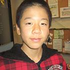 【氏名】大熊 海州 様 【年齢】13歳